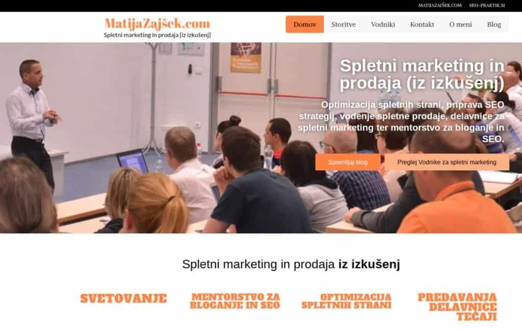 spletni marketing izobraževanje