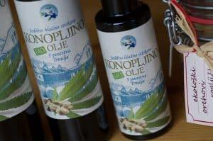 Konopljino olje za hujšanje - ekološko posestvo Trnulja