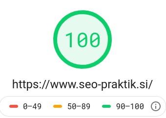 hitrost nalaganja spletne strani seo praktik